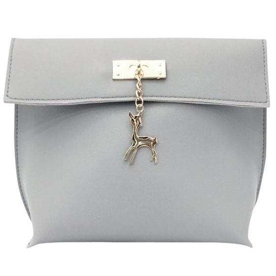 Mini Deer Women Leather Shoulder Bag
