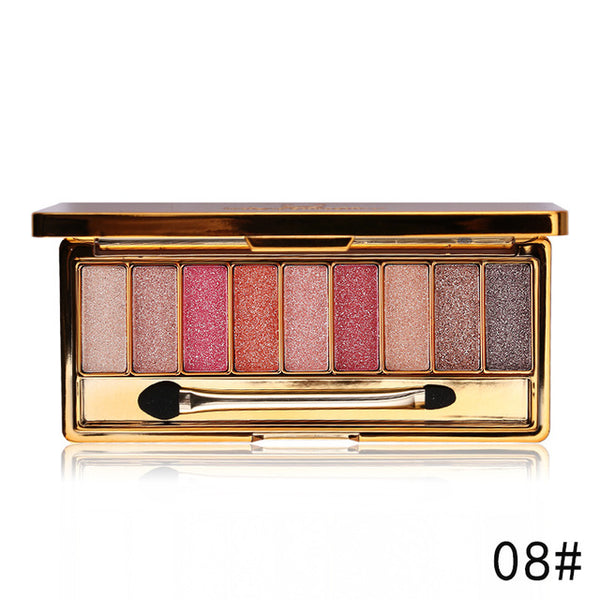 Professional Eye Shadow 9 Colors Diamond Palette