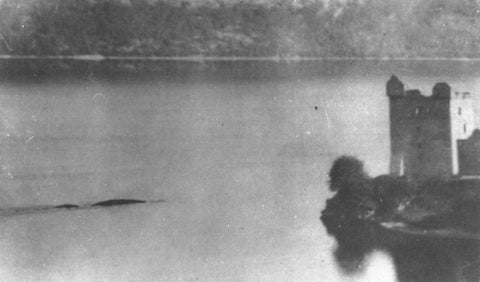 Nessie snapped by Peter MacNab 1955
