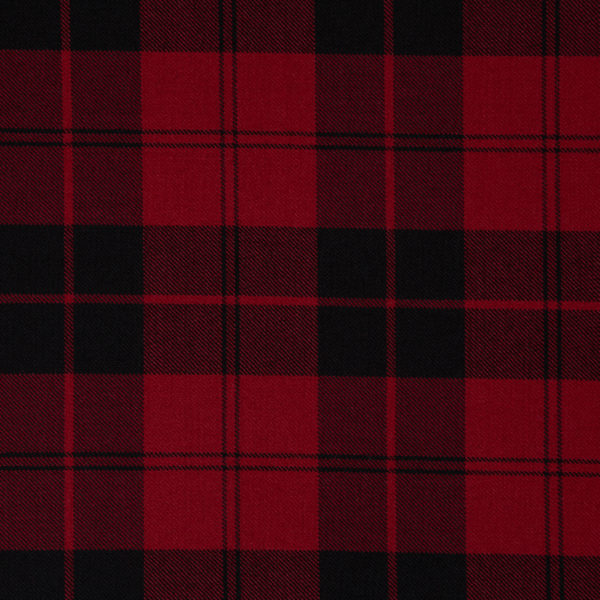 Campbell Red Muted Tartan