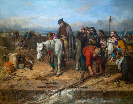 The Last of the Clan' by Thomas Faed