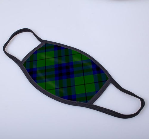 Keith Tartan Printed Face Mask