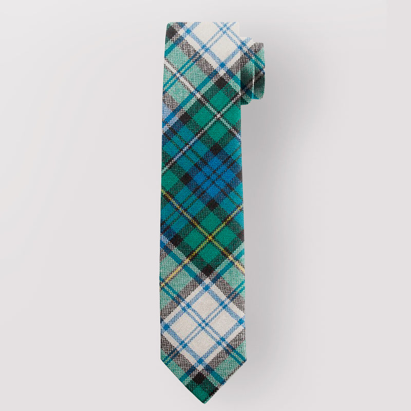 Pure Wool Tie in Campbell Dress Ancient Tartan.