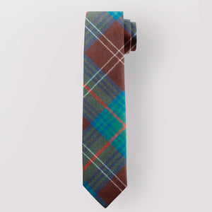Pure Wool Tie in Chisholm Hunting Ancient Tartan