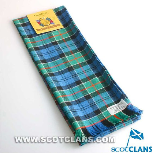 Wool Scarf in Colquhoun Ancient Tartan