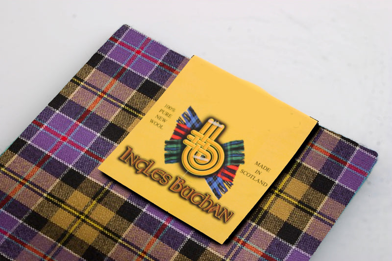 Pocket Square in Culloden Tartan.