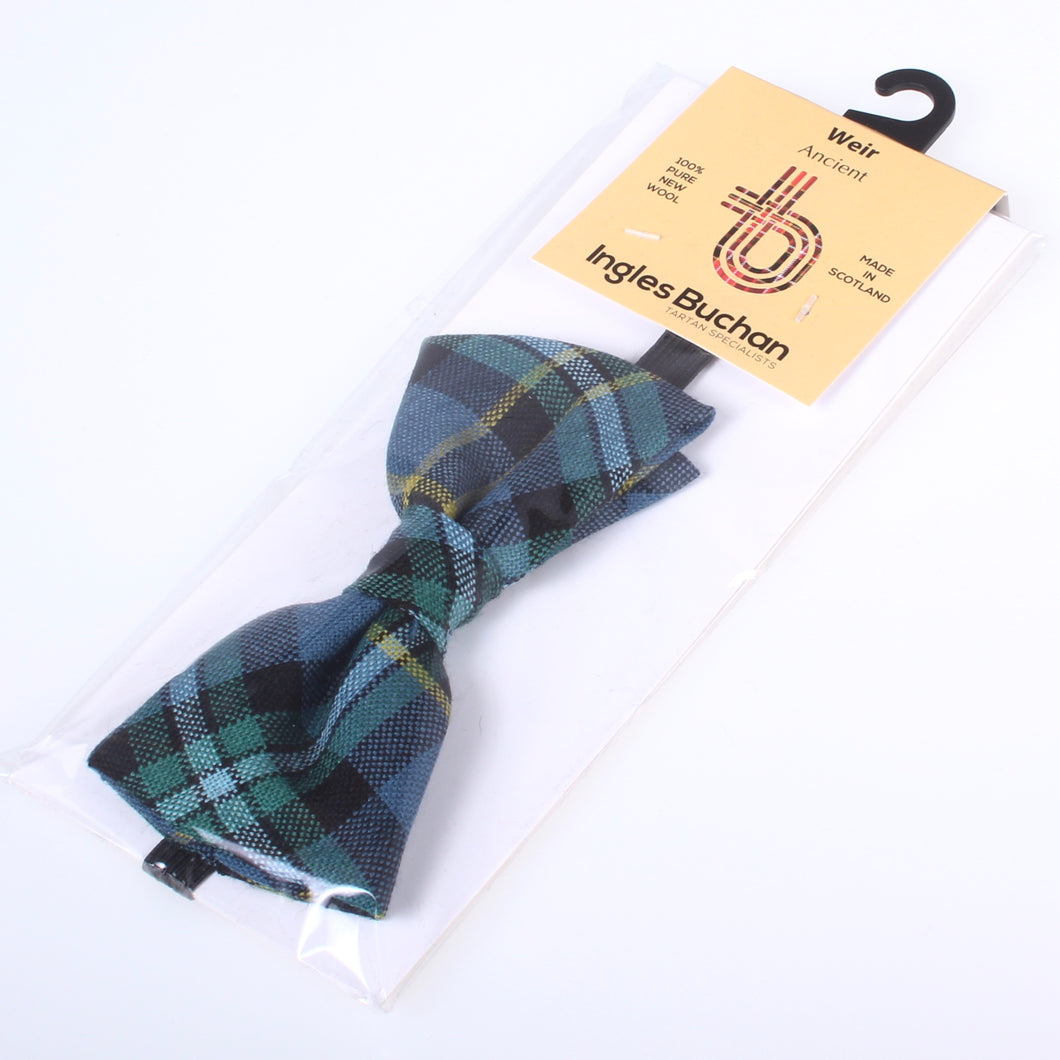 Weir Ancient Tartan Bow Tie