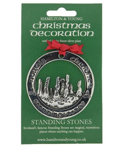 Outlander Inspired Standing Stones Christmas Decoration