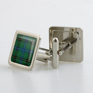 Henderson Ancient Tartan Cufflinks - Choose Your Shape