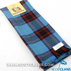Wool Scarf in Home Ancient Tartan