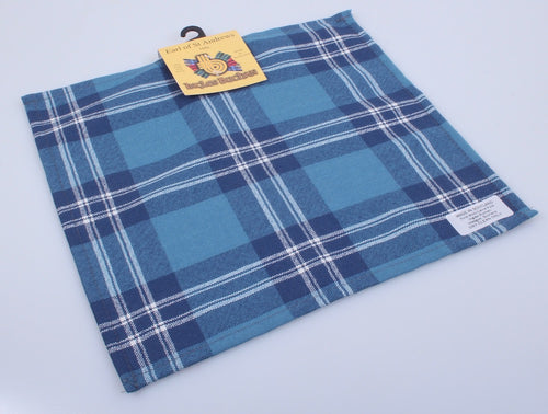 Wool Tartan Pocket Square in Earl of St Andrews Tartan