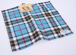 Wool Tartan Pocket Square in Thompson Modern Tartan