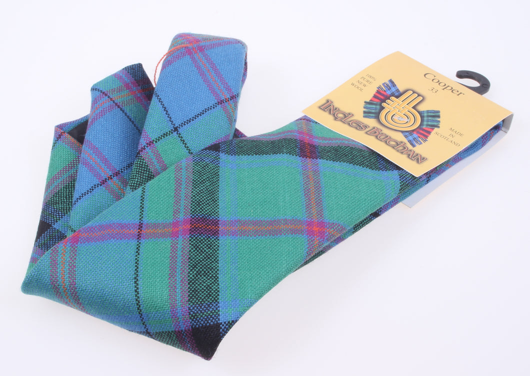 Pure Wool Tie in Cooper Ancient Tartan