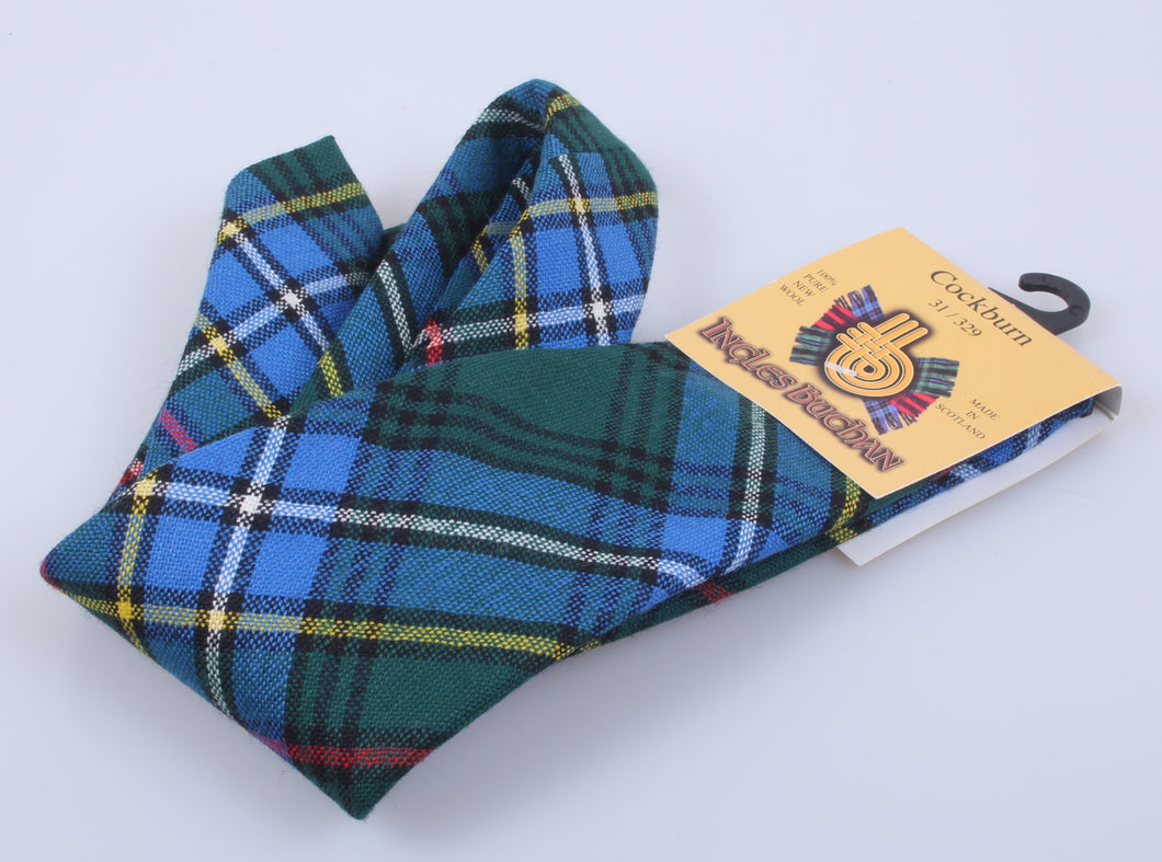 Pure Wool Tie in Cockburn Tartan