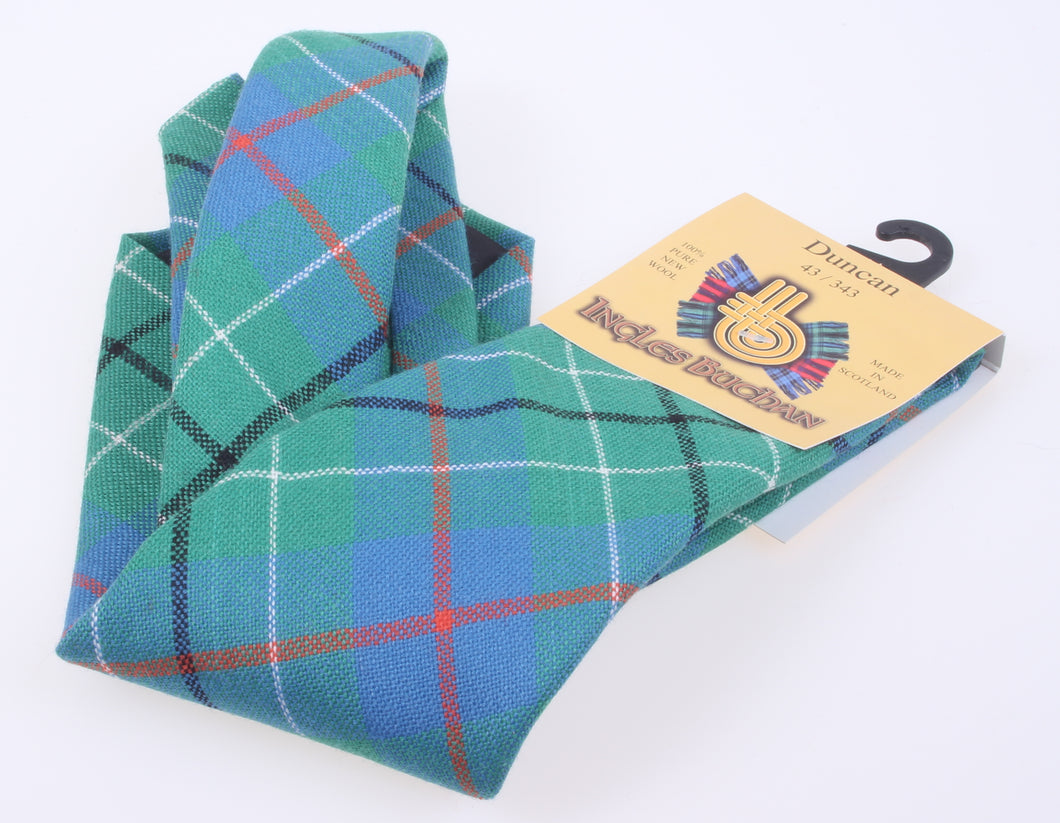 Pure Wool Tie in Duncan Ancient Tartan