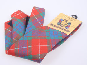 Pure Wool Tie in Fraser Dress Ancient Tartan