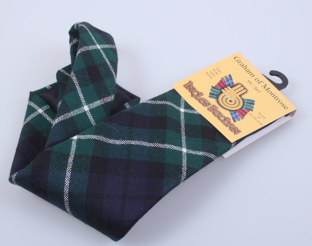 Pure Wool Tie in Graham of Montrose Modern Tartan