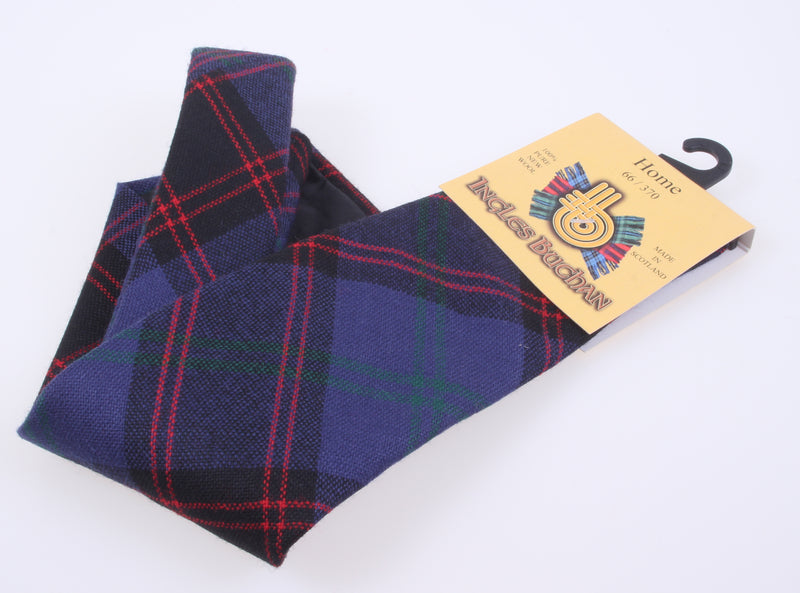 Pure Wool Tie in Home-Hume Modern Tartan