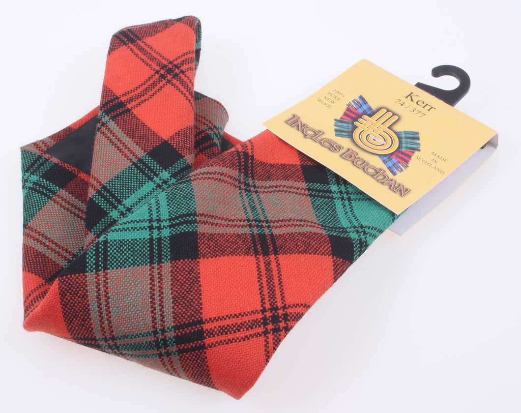Pure Wool Tie in Kerr Ancient Tartan