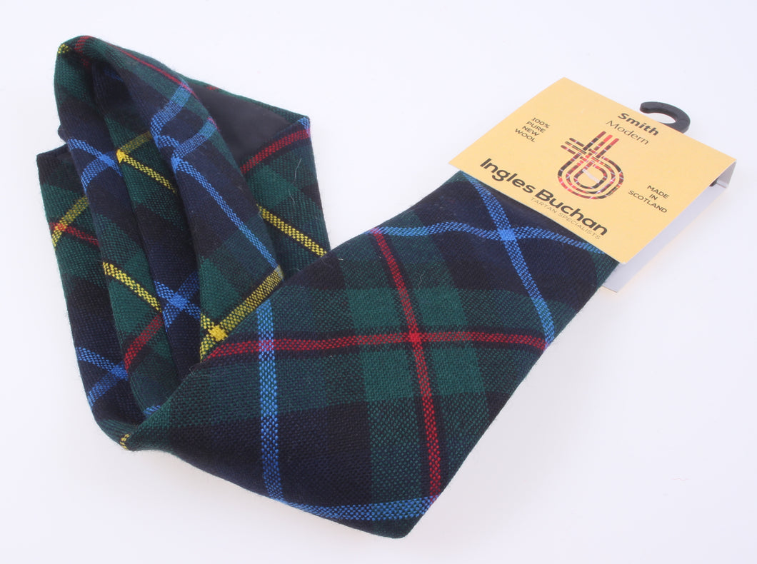 Pure Wool Tie in Smith Modern Tartan