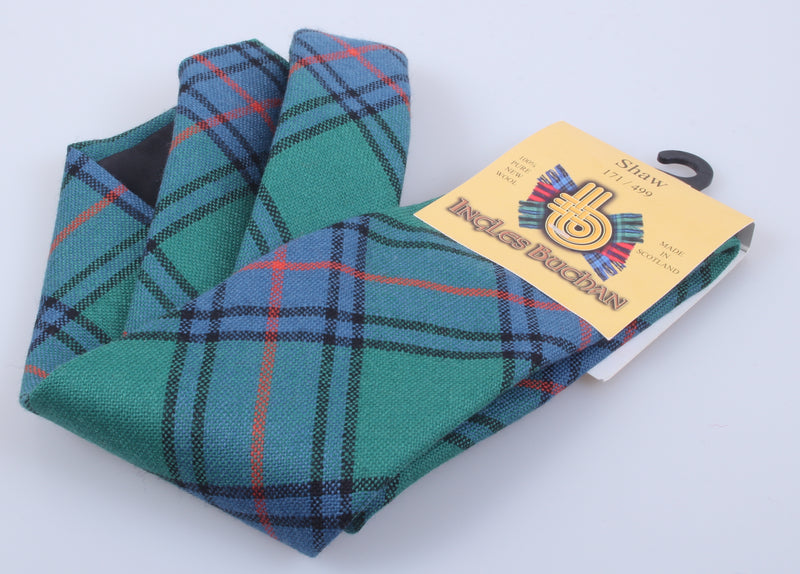Pure Wool Tie in Shaw Ancient Tartan