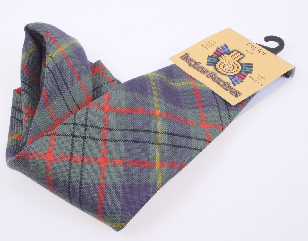 Pure Wool Tie in Taylor Tartan