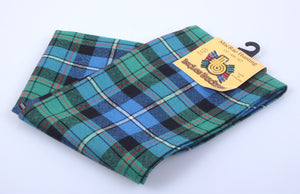 Wool Scarf in MacRae Hunting Ancient Tartan