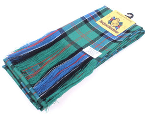 Wool Tartan Full Length Sash in Sinclair Hunting Ancient Tartan