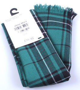 Luxury Lightweight Scarf in MacLean Hunting Ancient Tartan