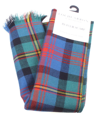 Luxury Lightweight Scarf in MacLennan Ancient Tartan