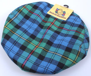 Pure Wool Golf Cap in MacEwan Ancient Tartan