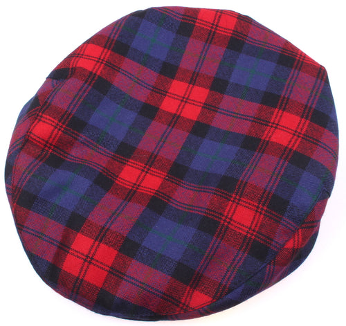Pure Wool Golf Cap in MacLachlan Modern Tartan