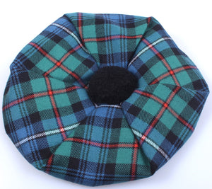 Luxury Unisex Wool Tam in Robertson Hunting Ancient Tartan