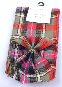 Luxury Wool Tartan Mini Sash in Bruce of Kinnaird Tartan