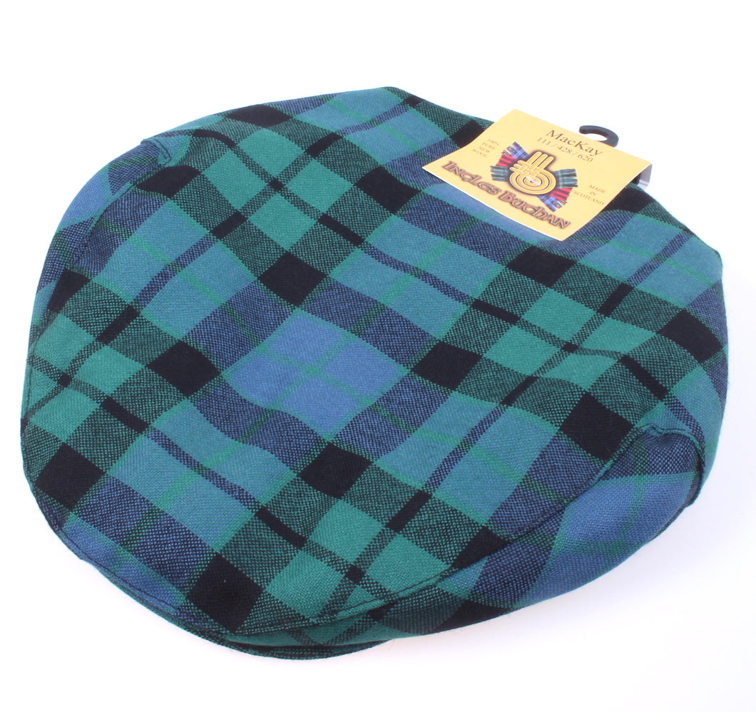 Pure Wool Golf Cap in MacKay Ancient Tartan