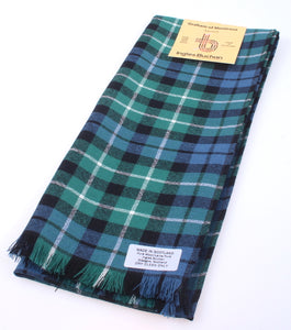 Pure Wool Scarf in Graham of Montrose Ancient Tartan