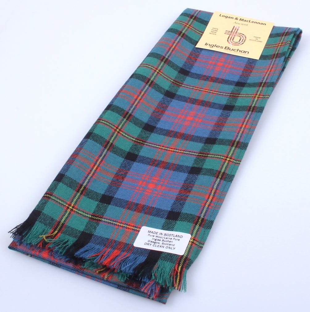 Wool Scarf in Logan Ancient Tartan
