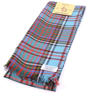 Pure Wool Scarf in Anderson Ancient Tartan