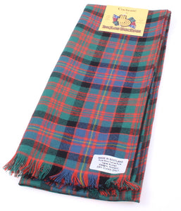 Wool Scarf in Cochrane Ancient Tartan