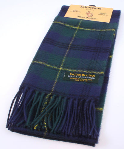 Lambswool Scarf in Johnstone Modern Tartan