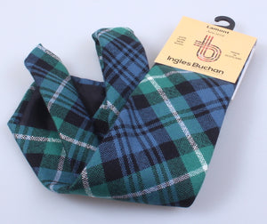 Pure Wool Tie in Lamont Ancient Tartan
