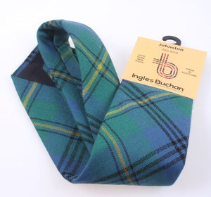 Pure Wool Tie in Johnstone Ancient Tartan