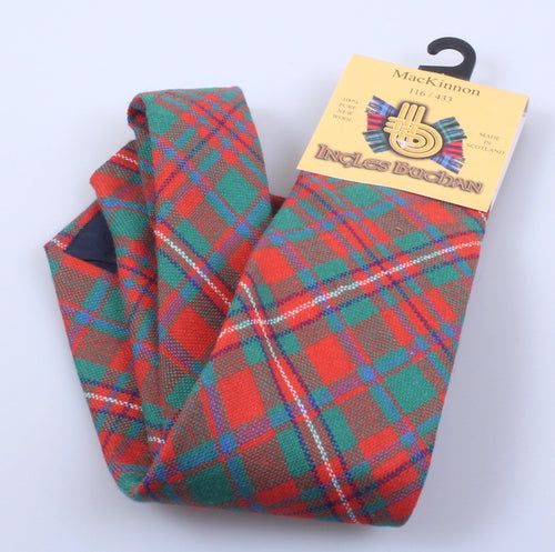 Pure Wool Tie in MacKinnon Ancient Tartan