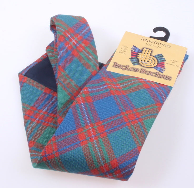 Pure Wool Tie in MacIntyre Ancient Tartan