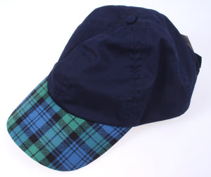 Wool Baseball Cap in Campbell Ancient Tartan Skip