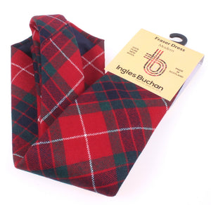 Pure Wool Tie in Fraser Dress Modern Tartan