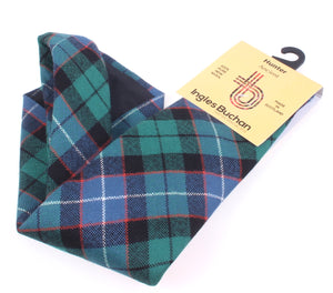 Pure Wool Tie in Hunter Ancient Tartan