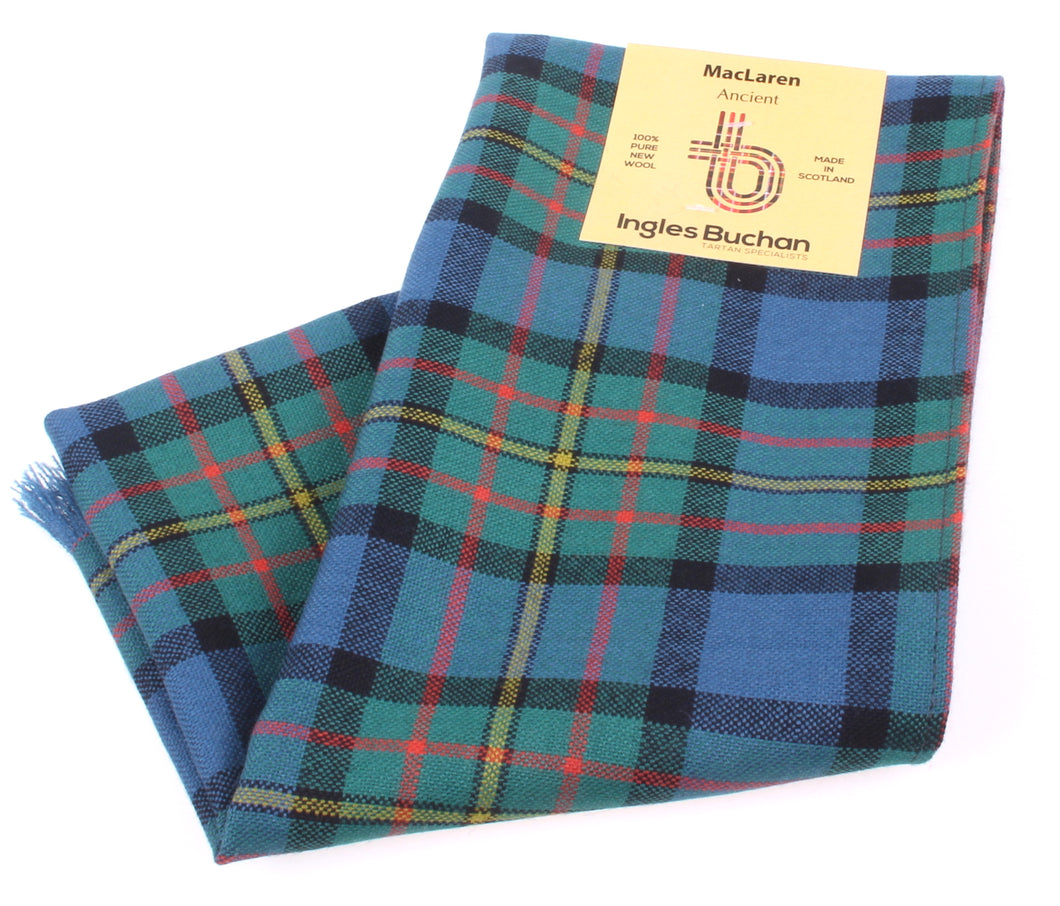Pure Wool Scarf in MacLaren Ancient Tartan