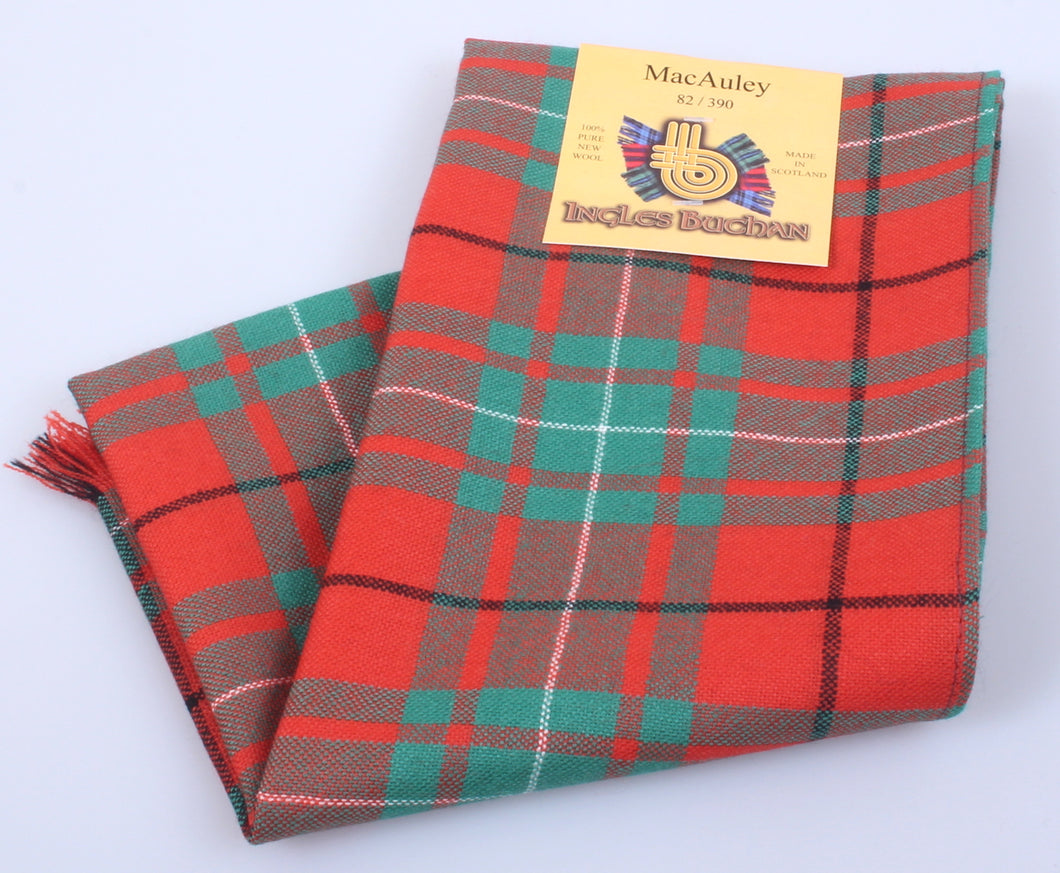 Wool Scarf in MacAulay Ancient Tartan