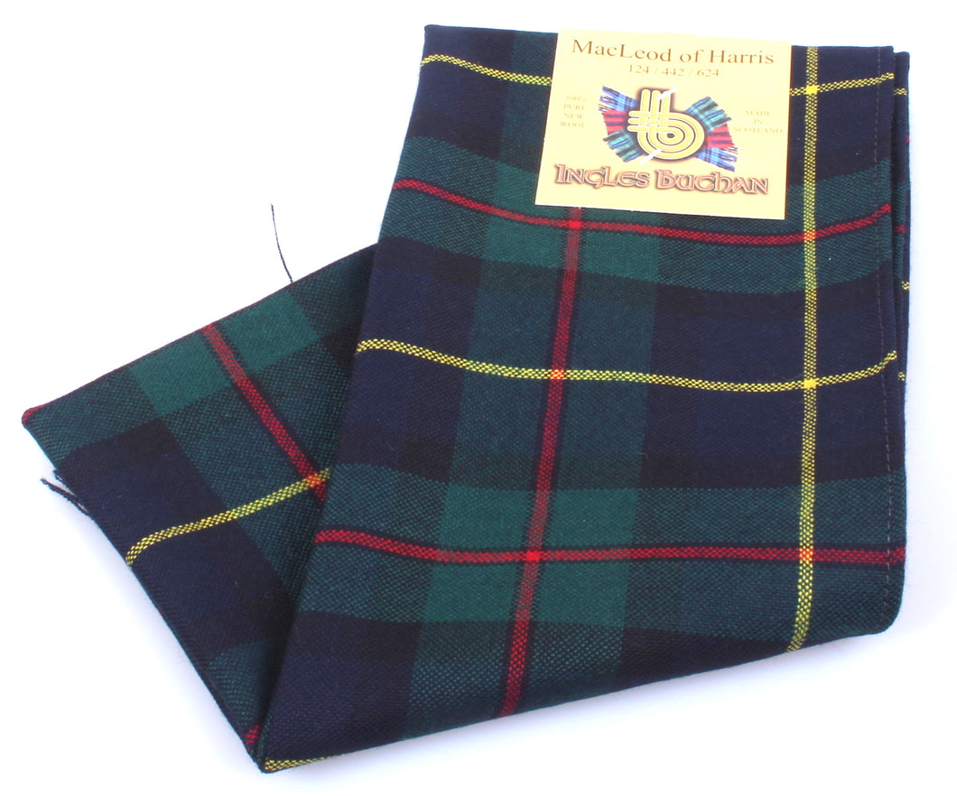 Wool Scarf in MacLeod of Harris Modern Tartan